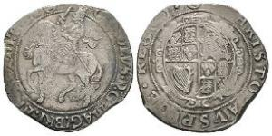English Stuart Coins - Charles I - Tower - Halfcrown