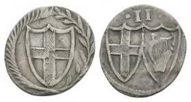 English Stuart Coins - Commonwealth - Halfgroat