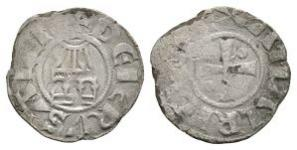 World Coins - Crusader Issues - Jerusalem - Amaury I - Denier