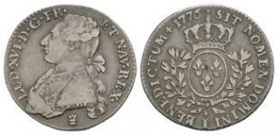 World Coins - France - Louis XVI - 1776 - 24 Sols