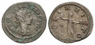 Ancient Roman Imperial Coins - Quietus - Antoninianus