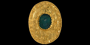 Late Roman Gold Filigree Brooch