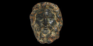 Roman Jupiter Head Appliqué