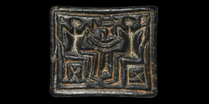 Western Asiatic Stamp Seal with Banquet Scene