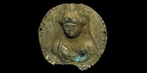 Roman Silver Figural Phalera