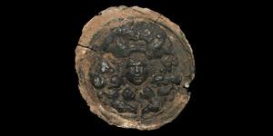Roman Medusa Phalera with Lions