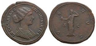 Lucilla - Venus Sestertius