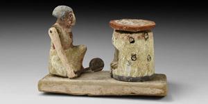 Egyptian Tomb Model with Baking Scene