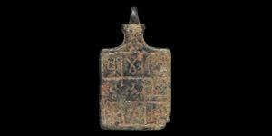 Calligraphic Pendant