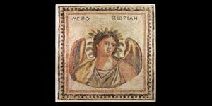 Roman Mosaic Panel with Summer
