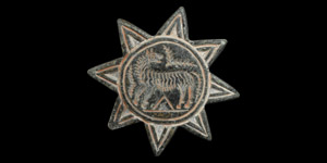 Star-Shaped Seal with Animal