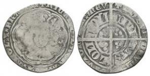 English Medieval Coins - Richard II - London - Groat