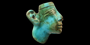 Egyptian Turquoise Face Inlay
