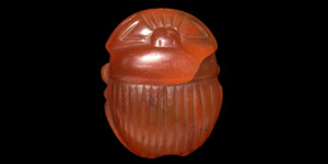 Carnelian Scarab Amulet