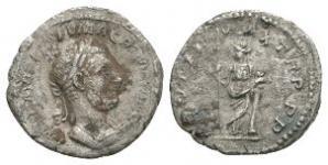 Roman Imperial Coins - Macrinus - Unlisted Securitas Denarius
