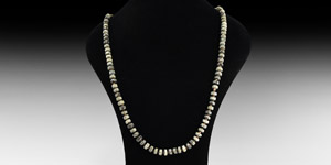 Serpentine and Other Bead Necklace