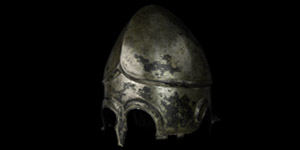 Greek Highly Tinned Chalcidian Helmet