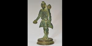 Roman - Bronze Figurine - Lares