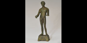 Roman - Bronze Figurine - Male Figure
