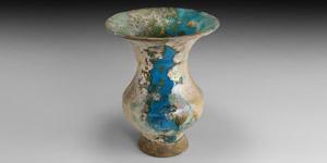 Kushan Glazed Jar