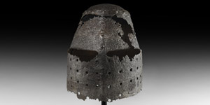 Medieval German Great Helm