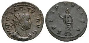 Ancient Roman Imperial Coins - Tacitus - Spes Antoninianus