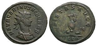 Ancient Roman Imperial Coins - Carinus (under Carus) - Pietas Antoninianus