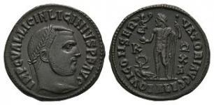 Ancient Roman Imperial Coins - Licinius I - Jupiter Follis