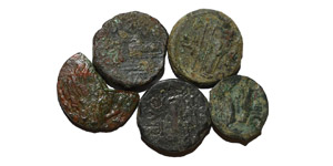 Ancient Greek Coins - Mixed Bronzes [5]
