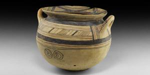 Greek Daunian Vessel