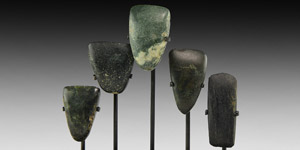 Stone Age Polished Axehead Collection