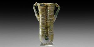 Roman Glass Double Unguentarium