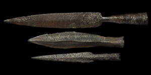 Medieval Spearhead Collection