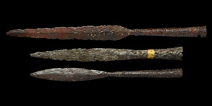 Viking Decorated Spearhead Collection