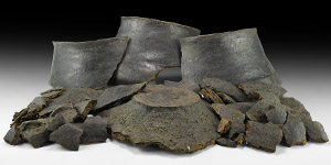 Large Bronze Age Vessel Fragment Group