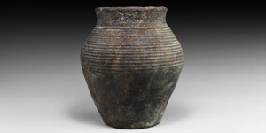 Medieval Ribbed Vessel