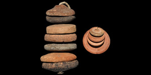 Bronze Age Spindle Whorl Group