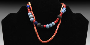 Roman and Other Necklace Bead String Group