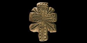 Coptic Figural Cross Pendant
