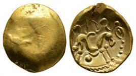 Gallo-Belgic - Ambiani - Gold Stater