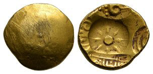 India - Yadavas of Devagiri - Gold Padmatanka
