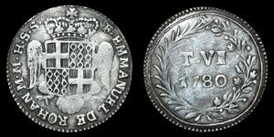 World Malta - Emmanuel de Rohan - 1780 - 6 Tari