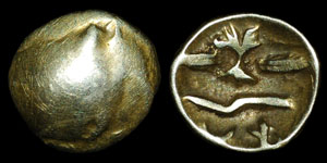 British Celtic - Geometric - Quarter Stater