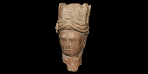 Crowned Statuette Head