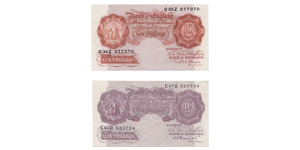George VI - Bank of England - 10 Shilling Note Group [2]