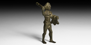 Figure of Hercules with Club