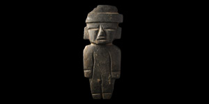 Teotihuacan Carved Figure