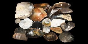 Historic British Flint Blade and Scraper Collection