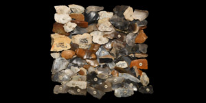 Historic British Flint Blade and Flake Collection