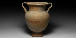 Cypriot Bichrome Two-Handled Krater